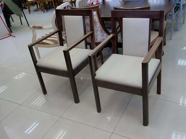 wooden interior chairs